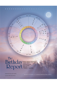 The Birthday Report Thumbnail/Click for sample PDF
